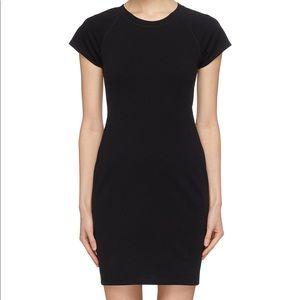 ames Perse Womens Sheath Dress Size 4 Black NWOT